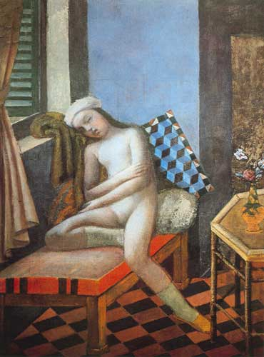 Balthasar Balthus, Sleeping Nude Fine Art Reproduction Oil Painting