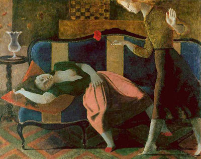 Balthasar Balthus, The Dream I Fine Art Reproduction Oil Painting