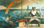 Balthasar Balthus, The Mediterranee Cat Fine Art Reproduction Oil Painting