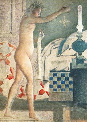 Balthasar Balthus, The Moth Fine Art Reproduction Oil Painting