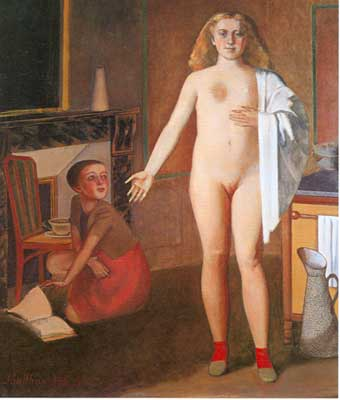 Balthasar Balthus, The Room Fine Art Reproduction Oil Painting