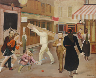 Balthasar Balthus, The Street Fine Art Reproduction Oil Painting