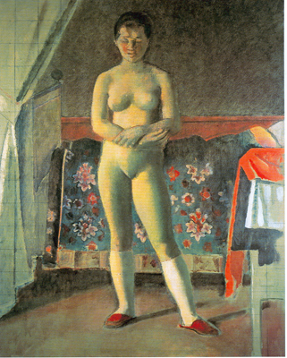 Balthasar Balthus, The Toilet Fine Art Reproduction Oil Painting