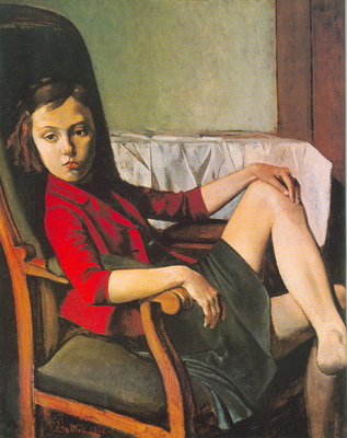 Balthasar Balthus, Therese Fine Art Reproduction Oil Painting
