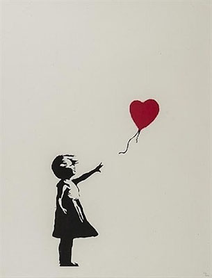 Banksy, Girl With Balloon Fine Art Reproduction Oil Painting