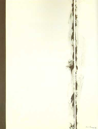 Barnett Newman, First Station Fine Art Reproduction Oil Painting