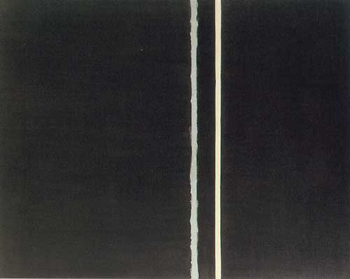 Barnett Newman, The Promise Fine Art Reproduction Oil Painting