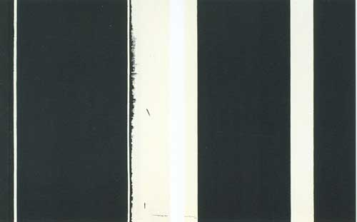 Barnett Newman, Twelfth Station Fine Art Reproduction Oil Painting