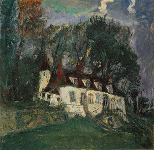 Chaim Soutine, House at Oiseme Fine Art Reproduction Oil Painting