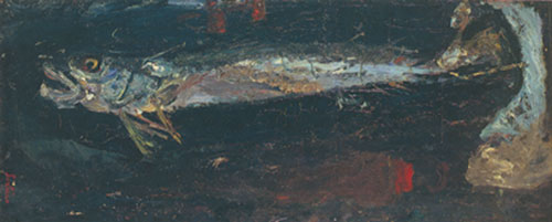 Chaim Soutine, Large Fish Fine Art Reproduction Oil Painting