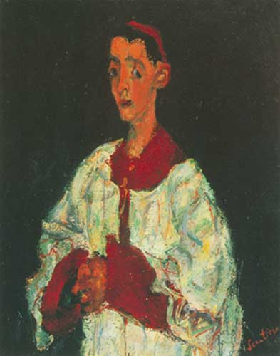 Chaim Soutine, The Choir Boy Fine Art Reproduction Oil Painting