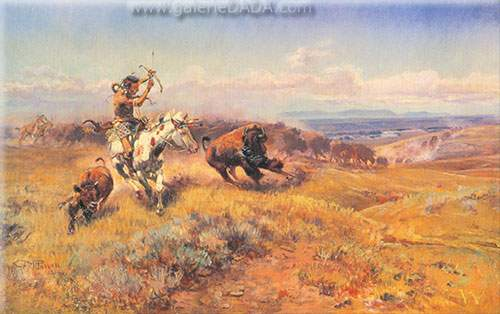 Charles M. Russell, Fresh Meat Fine Art Reproduction Oil Painting
