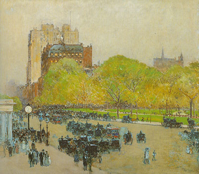 Childe Hassam, Madison Square, New York Fine Art Reproduction Oil Painting