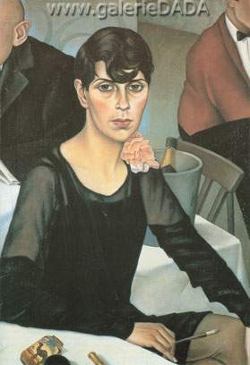 Christian Schad, Sonja Fine Art Reproduction Oil Painting