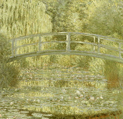 Claude Monet, Water Lily Pond, Symphony in Green Fine Art Reproduction Oil Painting