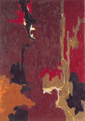Clyfford Still, 1946 No.1 Fine Art Reproduction Oil Painting