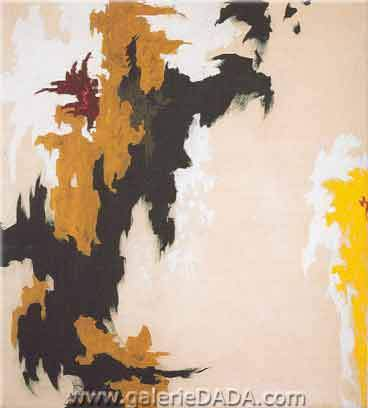 Clyfford Still, 1947-J Fine Art Reproduction Oil Painting