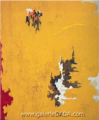 Clyfford Still, 1948-C Fine Art Reproduction Oil Painting