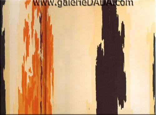 Clyfford Still, 1955-H Fine Art Reproduction Oil Painting