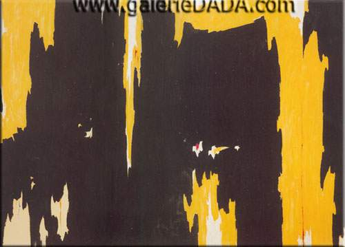 Clyfford Still, 1957-D No.1 Fine Art Reproduction Oil Painting