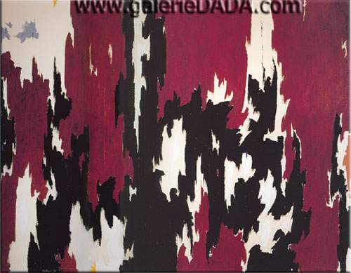 Clyfford Still, 1957-J No.1 Fine Art Reproduction Oil Painting