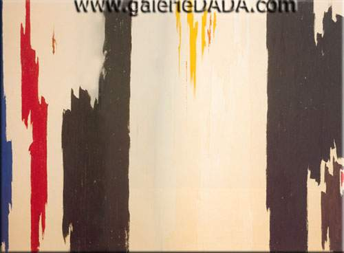 Clyfford Still, 1960 Fine Art Reproduction Oil Painting