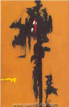 Clyfford Still, Fall 1946 Fine Art Reproduction Oil Painting