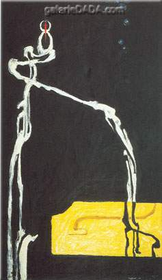Clyfford Still, Self-Portrait Fine Art Reproduction Oil Painting