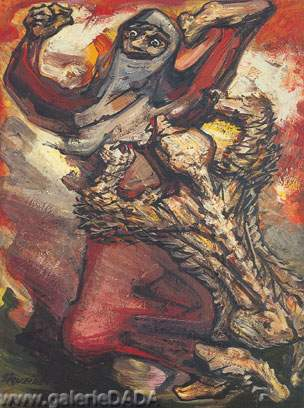 David Alfaro Siqueiros, El Nahuatl Fine Art Reproduction Oil Painting