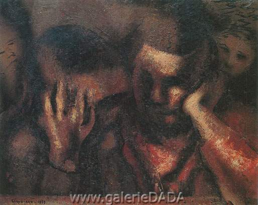 David Alfaro Siqueiros, The Secret Fine Art Reproduction Oil Painting