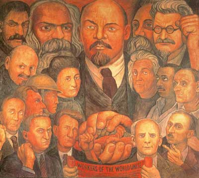 Diego Rivera, Proletarian Unity Fine Art Reproduction Oil Painting