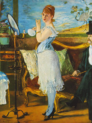 Edouard Manet, Nana Fine Art Reproduction Oil Painting