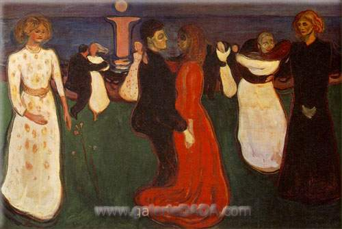Edvard Munch, The Dance of Life Fine Art Reproduction Oil Painting
