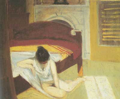 Edward Hopper, Summer Interior Fine Art Reproduction Oil Painting