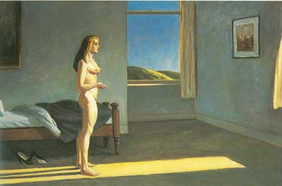 Edward Hopper, A Woman in the Sun Fine Art Reproduction Oil Painting