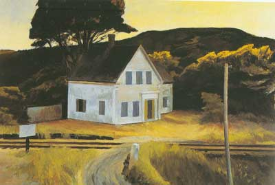 Edward Hopper, Cape Cod in October Fine Art Reproduction Oil Painting