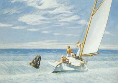 Edward Hopper, Ground Swell Fine Art Reproduction Oil Painting