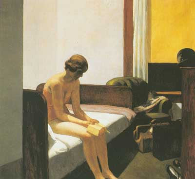 Edward Hopper, Hotel Room Fine Art Reproduction Oil Painting