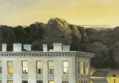 Edward Hopper, House at Dusk Fine Art Reproduction Oil Painting