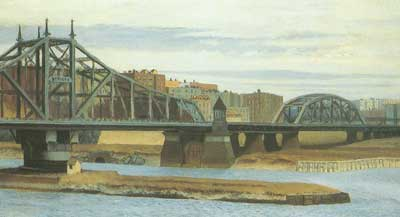 Edward Hopper, Macombs Dam Bridge Fine Art Reproduction Oil Painting
