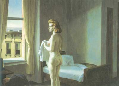 Edward Hopper, Morning in the City Fine Art Reproduction Oil Painting
