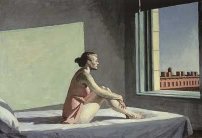 Edward Hopper, Morning Sun Fine Art Reproduction Oil Painting
