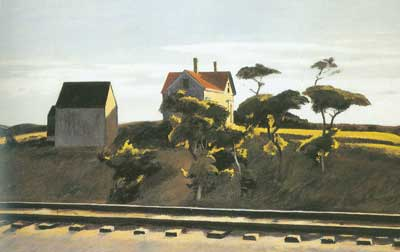 Edward Hopper, New York, New Haven and Hartford Fine Art Reproduction Oil Painting