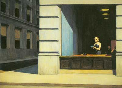Edward Hopper, New York Office Fine Art Reproduction Oil Painting