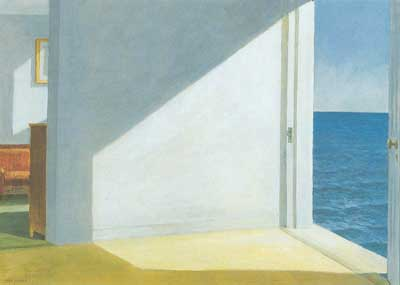 Edward Hopper, Room by the Sea Fine Art Reproduction Oil Painting