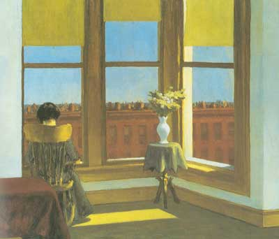 Edward Hopper, Room in Brooklyn Fine Art Reproduction Oil Painting