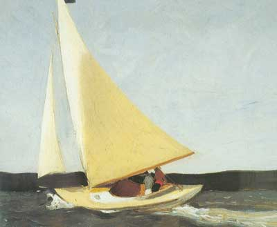 Edward Hopper, Sailing Fine Art Reproduction Oil Painting