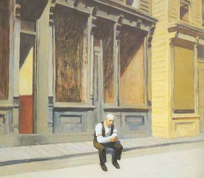 Edward Hopper, Sunday Fine Art Reproduction Oil Painting