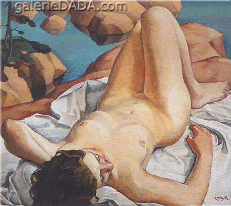 Edwin H. Holgate, Nude Fine Art Reproduction Oil Painting