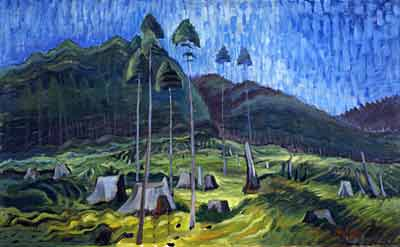 Emily Carr, Odds and Ends Fine Art Reproduction Oil Painting